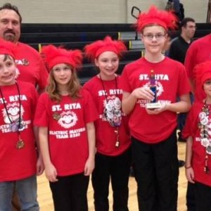 The 5th grade LEGO team is moving onto regional competition.