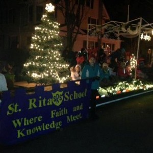 We marched in the Webster Winter Parade again this year.