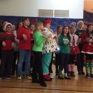 At the annual Sing-A-Long the 5th graders chose