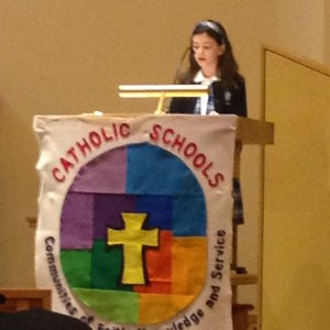 Welcome to Catholic School Week~Sunday mass celebration!