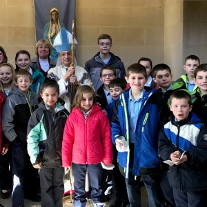 We had a group of students attended the Bishop's CSW mass at the Cathedral