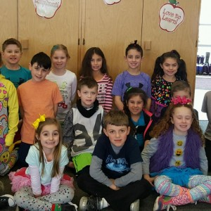 Wacky Day is a wild and fun filled day as the 2nd graders show.
