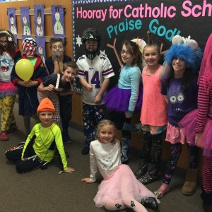 The remaining 3rd graders were proud to show you their outfits.