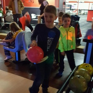 A field trip to go bowling is always a treat.