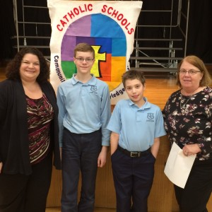 The finalist for the National Geography Bee