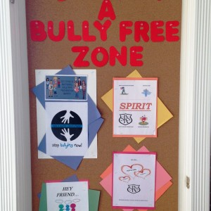 Olweus Anti Bulling themes for the year.
