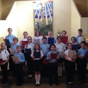 The students did a beautiful choral reading.