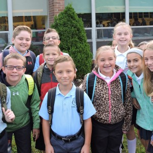 The 4th graders were glad to be back.