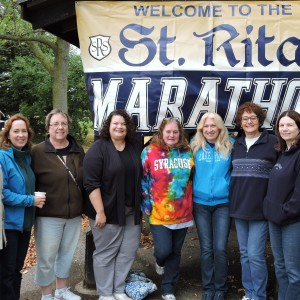 Just some of the faculty & staff who attended.