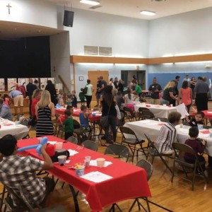 The New Family Ice Cream Social provided a way for everyone to get to know each other.