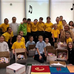 We collected over 100 pounds of candy during our Annual Operations Share the JOY!