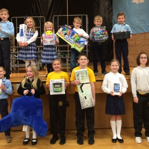 The Marathon prize winners.