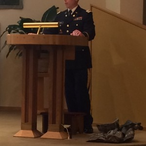 Captian Keith Perri shared his experiences with us.
