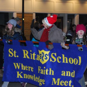 We walked in the Webster Winter Parade