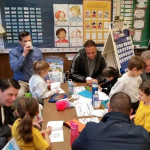 Another view of all the Dads