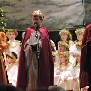 The Wise Men came bringing gifts.