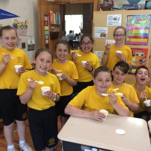 Celebrating our patron saint a with special treat.